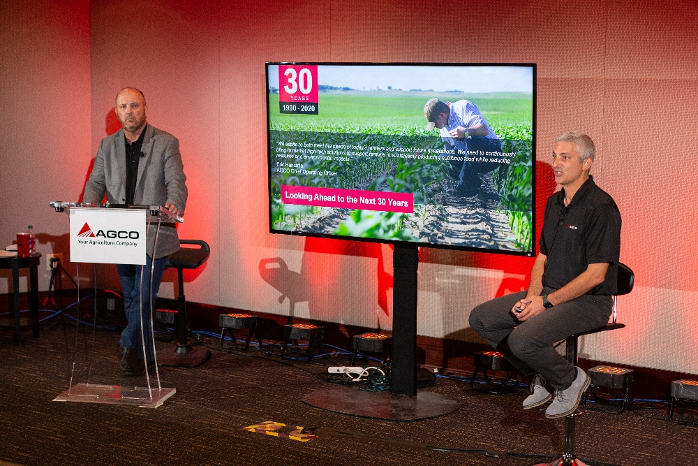 AGCO Supplier Event 2020 - Mike Clem and Eric Hansotia-1