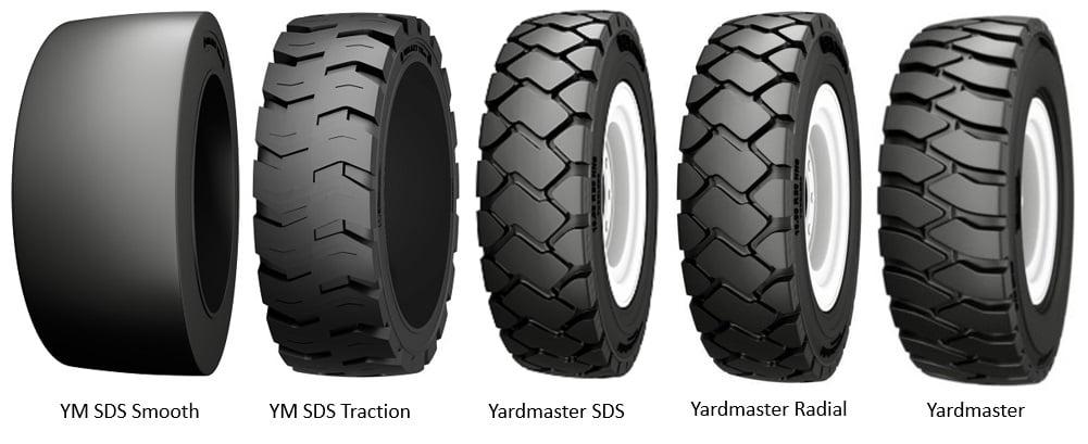 Galaxy Yardmaster Tires